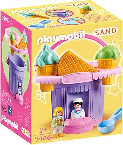 Playmobil- Cubo Heladería Juguete