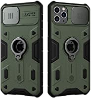 Nillkin® iPhone 11 Pro Max Case, CamShield Armor Case with Slide Camera Cover, PC & TPU Impact-Resistant B