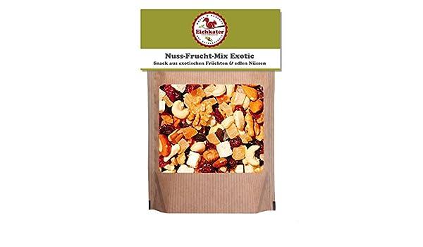 7d68a302b5beb6 Eichkater Nuss-Frucht-Mix Exotic 1er-Pack (1x500g)  Amazon.de  Lebensmittel    Getränke