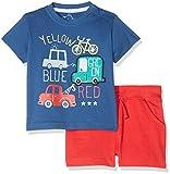 losan 817-8044AC, Conjunto de Ropa para Bebés, Azul (Azul Vintage), 80 (Tamaño del...