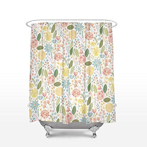 wer Vorhang für die Dusche Shabby Chic Stil Antik Stoff Badezimmer Decor 54x78Inches Color3 ()