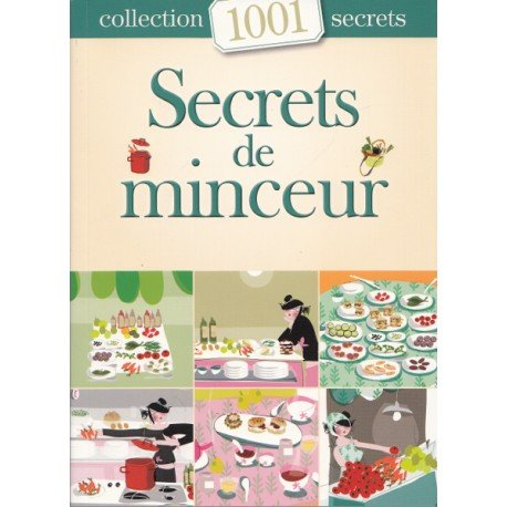 Secrets de minceur Collection 1001 secrets