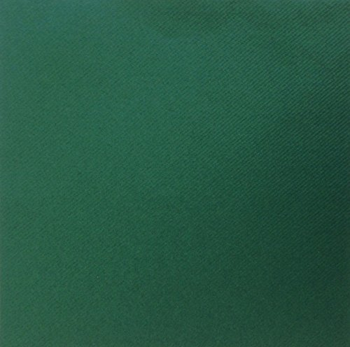 Crown Supplies Lot DE 50 Serviettes en Fibres Airlaid Vert de Luxe – Lin Sensation