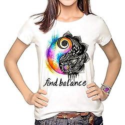 Yin Yang - Camisetas de Mandalas para hombre y mujer