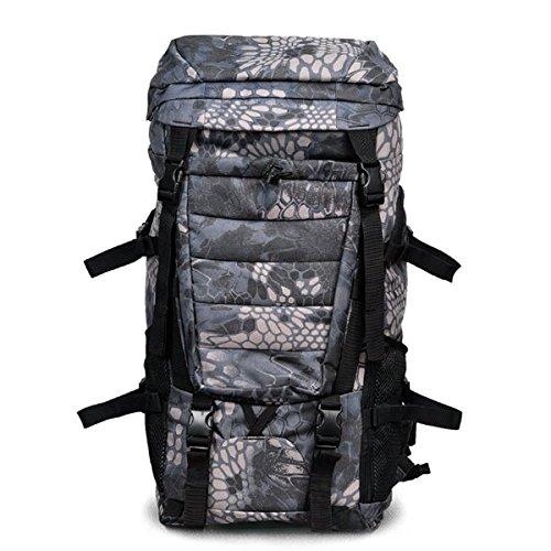 Outdoor Voyage Sac ˆ dos avec support militaire Workmanship Backpack La couleur noire