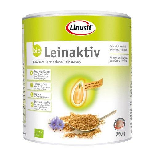 LINUSIT Leinaktiv Bio 250 g Pulver -