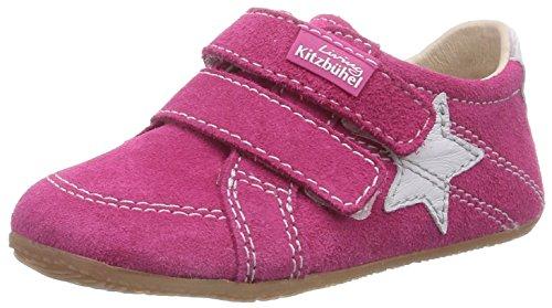 Living Kitzbühel Baby Doppelklettschuh Sterne, Chaussures premiers pas pour bébé (fille)