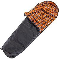 skandika Lappland - Saco de dormir (cremallera en lateral izquierdo, 220 x 80 cm