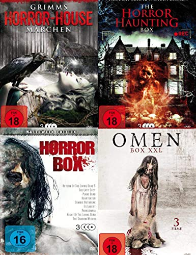 30 Horrorfilme HALLOWEEN COLLECTION Gruselmärchen - Horrorhäuser - Zombies - Dämonen - böse Omen - DVD Limited Edition