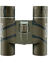 Bushnell 10x25mm PowerView - Prismático, camuflaje marrón