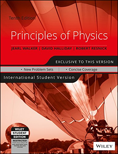 Principles of Physics, 10th Ed