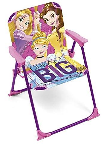 Arditex - 009456 - Chaise Pliable Pour Enfant - Princesses Dimensions - Jardin Camping Maison - 38 X 32 X 53