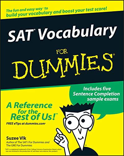 SAT Vocabulary for Dummies (For Dummies Series)