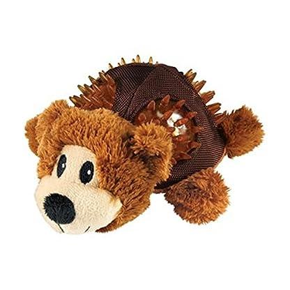KONG Shells Bear Dog Toy, Small 2