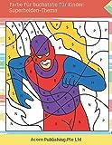 Farbe Für Buchstabe Für Kinder: Superhelden-Thema