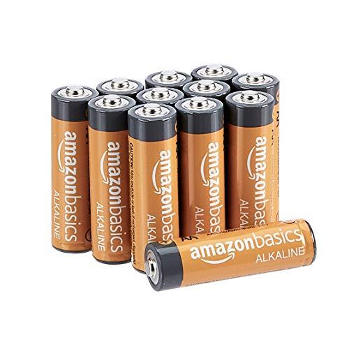AmazonBasics Performance Batterien Alkali, AA, 12 Stück (Design kann von Darstellung abweichen)