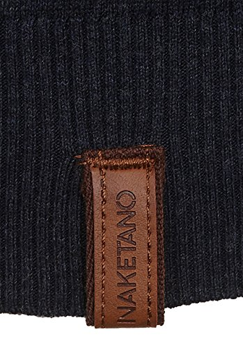 Naketano Female Knit Gespreizt wie Gereizt Dark Blue Melange