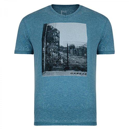 Dare 2B Herren Snapshot T-Shirt mit Aufdruck, kurzärmlig Ozean