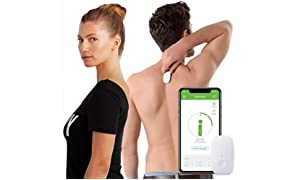 Upright GO Posture Corrector and Trainer for Back | Strapless, Discrete, Easy to Use | Complete with App and Training Plan | Back Health Benefits and Confidence Builder | Improved Posture in No Time