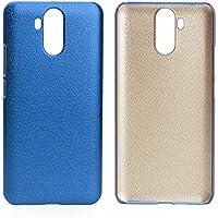 PREVOA Funda para Ulefone Power 3 / Power 3s - Colorful Plastico duro Funda Case para Ulefone Power 3 / Power 3s Smartphone - Darkblue