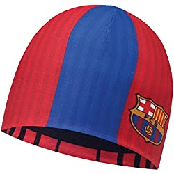 BUFF® SET - MICROFIBER REVERSIBLE HAT Licenses Gorro + UP® Paño tubular | Beanie | Logo | Transpirable | Antiolor | Reversible, alle Buff Designs 2016:234. BARÇA 2016/2017