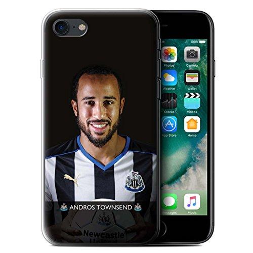 Officiel Newcastle United FC Coque / Etui Gel TPU pour Apple iPhone 7 / Wijnaldum Design / NUFC Joueur Football 15/16 Collection Townsend