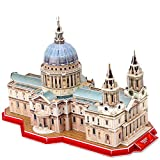 Best Cathedral Art Gifts For Friends - CubicFun 3D Puzzle London St. Paul's Cathedral World's Review