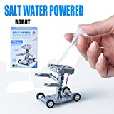#6: Happy GiftMart DIY Salt Water Powered Robot Toy Kit – Educational Project Set
