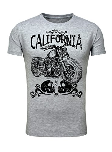 Herren T-ShirtLegendary Items Cali Biker TWO 1988 Grau