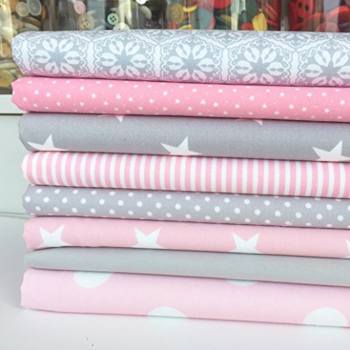 always-knitting-and-sewing-8-piece-fat-quarter-fabric-bundle-grey-pink-baby-girl-mix-100-cotton-popl