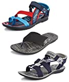 #3: Tempo Men's Combo Pack of 2 Floaters Sandals & Slippers