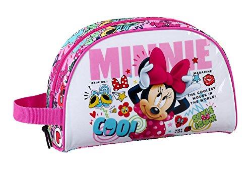 Minnie SAFTA Neceser Mouse CoolOficial Pequeño con Asa 280x100x180mm