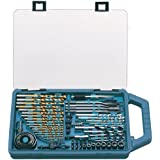 Makita P-44024 75 Piece Drill Bit and Saw Set P-44024 - Juego de brocas (pack de 75)