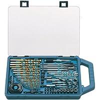 Makita P-44024 75 Piece Drill Bit and Saw Set P-44024 - Juego de brocas (pack de 75)