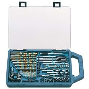 Makita P-44024 Drill Bit and Saw Set (75 Pieces)