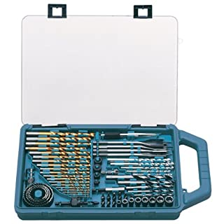 Makita P-44024 Drill Bit and Saw Set (75 Pieces) - BLUE (B00GSMBTJ0) | Amazon price tracker / tracking, Amazon price history charts, Amazon price watches, Amazon price drop alerts