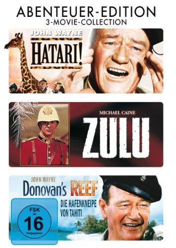 Bild von Hatari / Zulu / Hafenkneipe von Tahiti [3 DVDs]