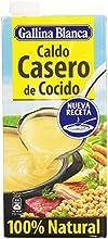 Gallina Blanca - Caldo casero de cocido - 100% Natural - 1 l - [pack de 3]