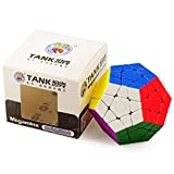 HJXDtech Speed Cube Shengshou Tank Series Megaminx Dodecahedron Cubos Mágicos Color Vivo Stickerless Speed Puzzle Cube Superficie Mate Antiarañazos