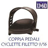 Ursus Paire pédales pour vélo d'appartement Cycle Vélo de Chambre avec cinghiette...