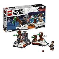 LEGO Star Wars 75236 riservato Kylo Ren assume Rey in una spada laser battaglia entusiasmante da Star Wars: Il Potere della Forza Awakens! Mettere le cifre sulle tavole rotanti costruzione e si preparano per il duello. Punch gli alberi con i ...