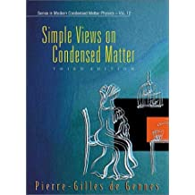 Simple Views on Condesed Matter