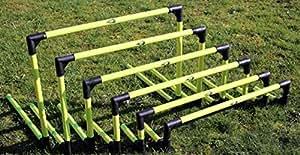 6 Haies d'agilité pliables FORZA pour exercices d'entraînement