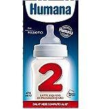 humana 2 latte liquido di proseguimento 12 brick da 470 ml