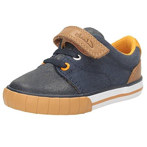 Clarks Boy's Blue First Walking Shoes - 6.5 kids UK/India (23 EU)
