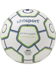 uhlsport TCPS Soccer Pro Fußball - Balón de fútbol de entrenamiento, color blanco, talla 3