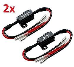 LP B548 2 Stück Leistungswiderstand Lastwiderstand Widerstand für SMD LED Miniblinker Mini Blinker für richtige Blinkfrequenz
