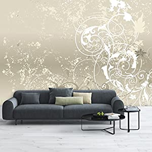 deco.deals - Carta da parati decorativa madreperla 366 x 254 cm
