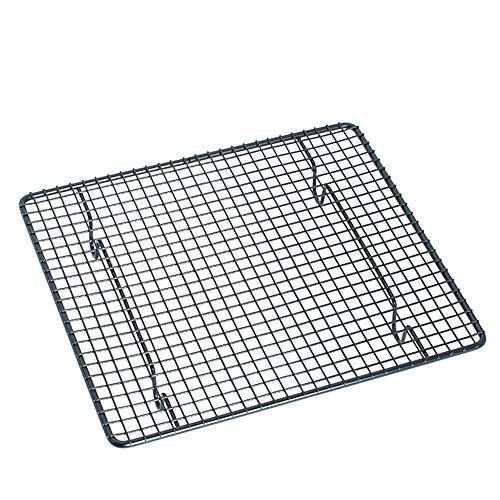 YUSDP Cakes Wire Cooling Rack Baking Frame Carbon Steel für Cool Cookies Fits HalbBlatt Pan Brot-Backoven Safe für das Rösten von Grilling-Heavy Duty Commercial Quality - Frame Wire Rack