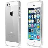 iPhone SE Hülle, Bingsale Ultra Slim TPU Case iPhone SE 5S Silikon Schutzhülle (transparent, iPhone 5S)